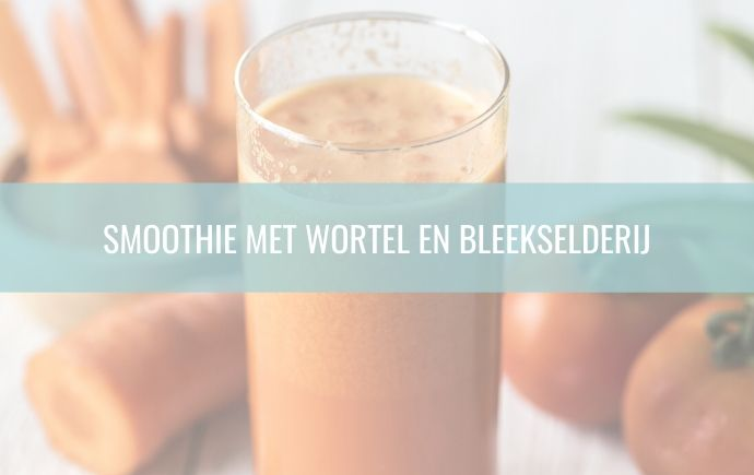 Smoothie Wortel en Bleekselderij