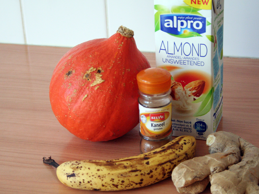 pompoen smoothie ingredienten