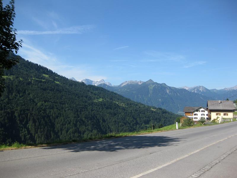 Motorvakantie Oostenrijk - Bregenzerwald