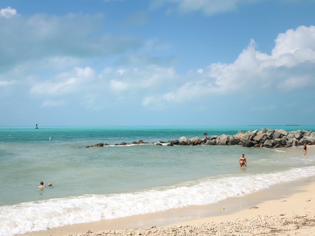 Fort Zachary Taylor Historic State Park & Beach Area
