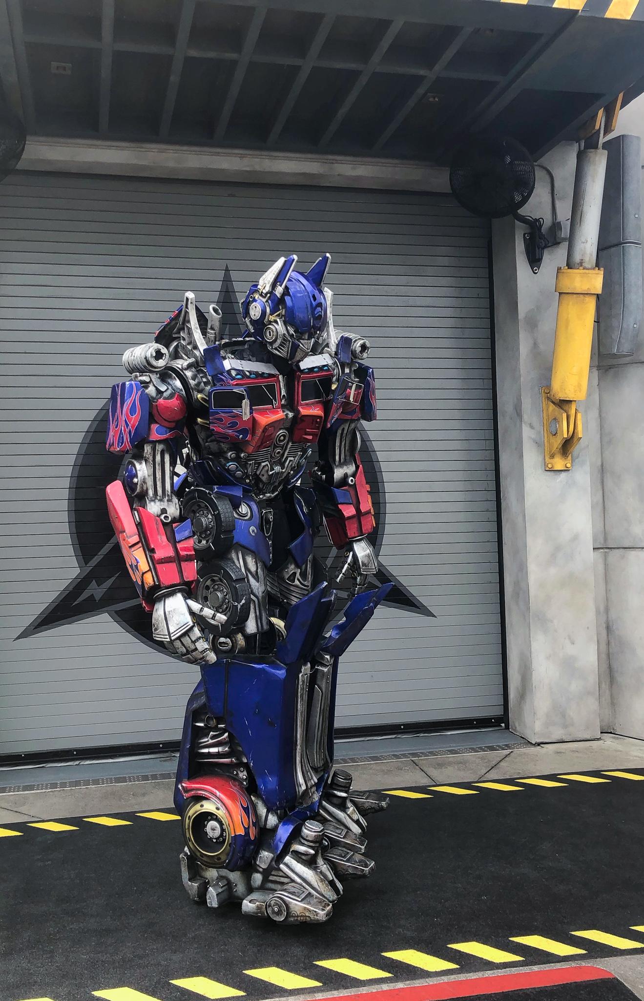 Pretparken in Florida - Universal Studios Florida - Transformers