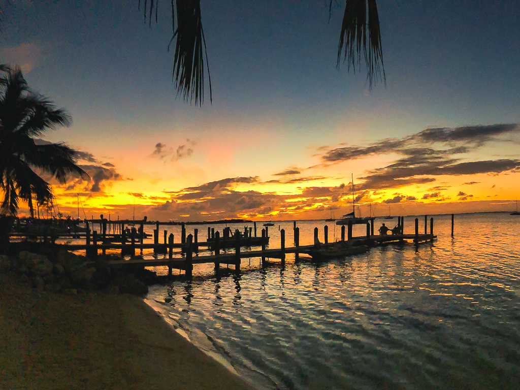 Sunset At Key Largo.