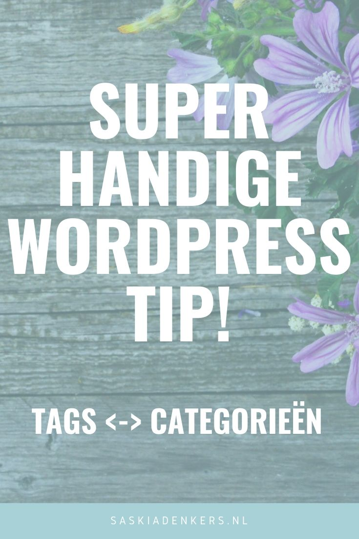 WordPress Tip