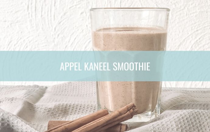 Appel Kaneel Smoothie