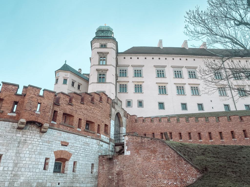 Het Koninklijke Kasteel van Wawel in het Poolse Krakau