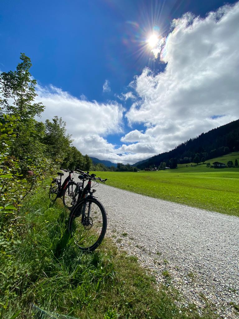 Fietsen in Oostenrijk -  voor herhaling vatbaar.