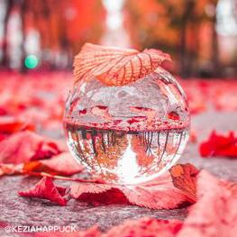 Kristallen Glazen Foto Bol